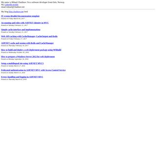 A complete backup of chudinov.net