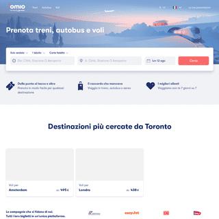 ArchiveBay.com - goeuro.it - I biglietti più convenienti per treni, autobus e voli - Omio (GoEuro)