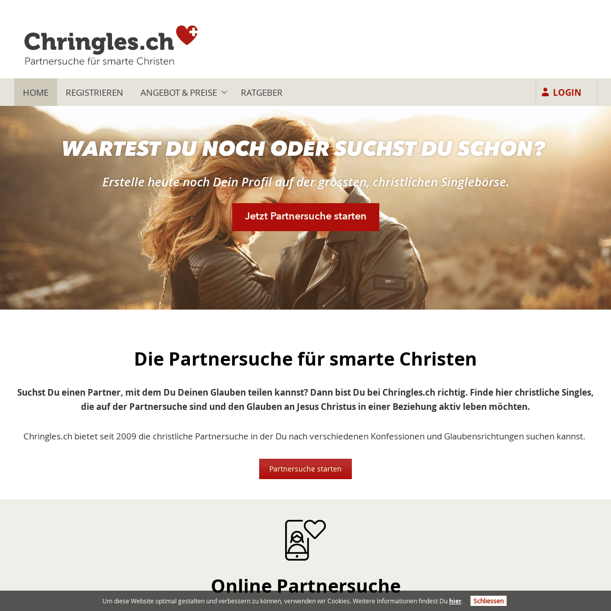 ArchiveBay.com - chringles.ch - Partnersuche für smarte Christen 😍 - Chringles.ch