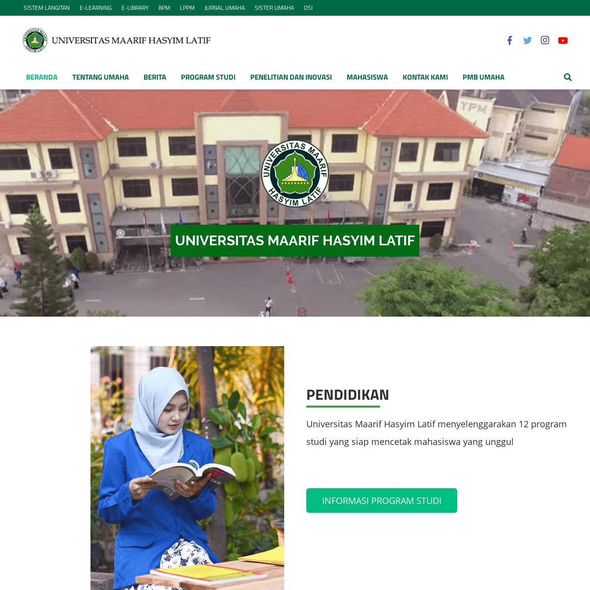 ArchiveBay.com - umaha.ac.id - UMAHA - Universitas Maarif Hasyim Latif