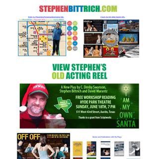 ArchiveBay.com - stephenbittrich.com - Stephen Bittrich Official Website New York Writer, Actor, Web Designer