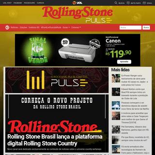 Rolling Stone · Música, Cinema, Política, Moda, Entrevistas, Notícias, Fotos, Vídeos, Críticas e Mais