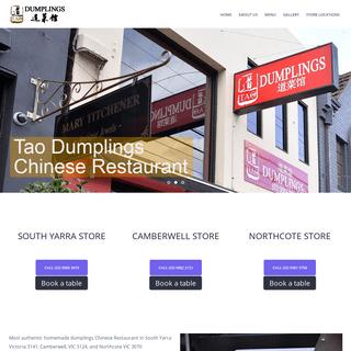 Tao Dumplings Chinese Restaurant