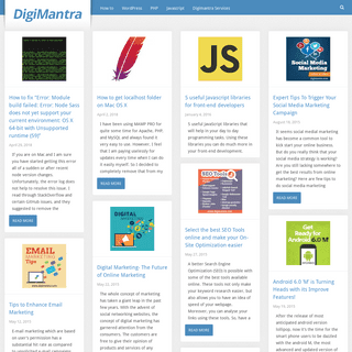 DigiMantra Technology tips for all