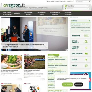Site officiel de l'Aveyron - Conseil départemental