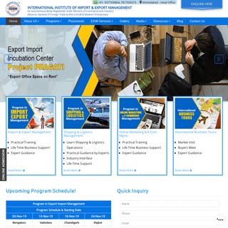 ArchiveBay.com - iiiem.in - iiiEM Learn Export Import Course, Training, Program, Institute, Class, Education Ahmedabad, Delhi, Mumbai, Kolkata, Chennai, Ban