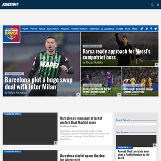Everything Barca - FC Barcelona News, Scores and Transfer Rumors