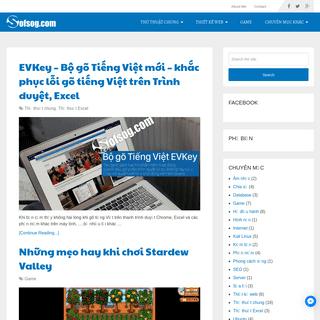 Sofsog.com - Chia sẻ để cùng phát triển