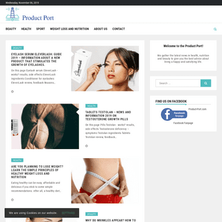 Product Port provides the best information about healthy lifestyle, weight loss and beauty care.