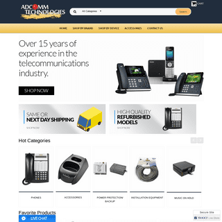 Panasonic, Yealink, Polycom, Avaya, Mitel Business Phones for Sale