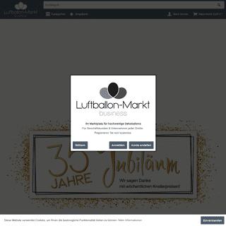 A complete backup of luftballon-markt.de