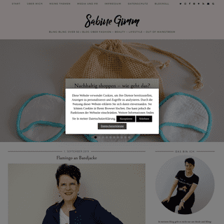 Sabine Gimm – Bling-Bling over 50 - BLOG über Fashion – Beauty – Lifestyle – Out of Mainstream