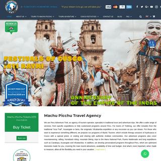 ArchiveBay.com - peruadventuretrek.com - Machu Picchu Travel Agency - Tours to Machu Picchu Peru