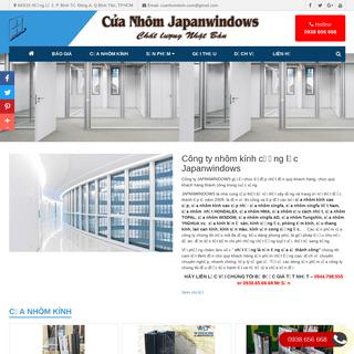 ArchiveBay.com - cuanhomnhat.com - CÔNG TY NHÔM KÍNH JAPANWINDOWS