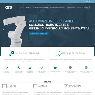 ARS Automation - Soluzioni robotizzate e sistemi di controllo