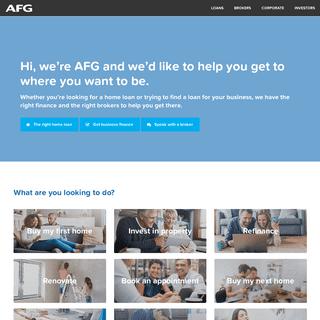 Australian Finance Group - We can help you get a home loan