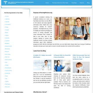 Nursingprocess.org - Your Guide to Nursing & Health Care Education