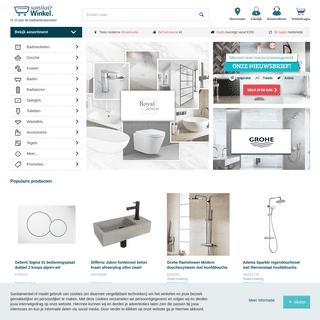 Sanitairwinkel ® Grootste assortiment sanitair online