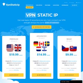 ArchiveBay.com - vpnstaticip.com - VPN Static IP - Get real static IP address anywhere! - VPNstaticIP.com