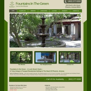 Fountains In The Green - Fountains In The Green