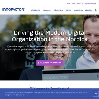 Innofactor - Driving the #ModernDigitalOrganization in the Nordics