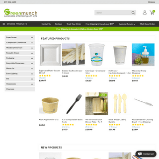 Greenmunch- Eco-Friendly Products Canada - Sustainable Entertaining with Style