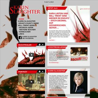 www.karin-slaughter.de – Offizielle deutschsprachige Website der Autorin Karin Slaughter