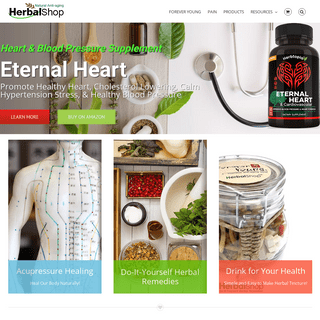 HerbalShop – Natural Remedies for for Self Healing!