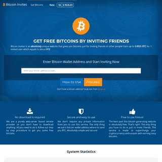 Bitcoin Invites - Earn $65 Free BTC in 5 minutes