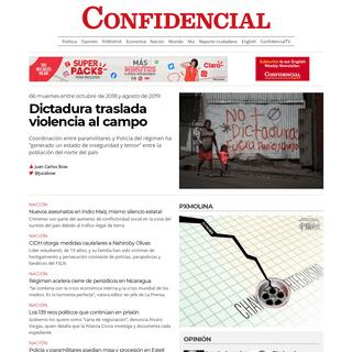 Confidencial - Noticias de Nicaragua, investigaciones y análisis