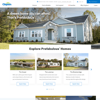 Modular-Manufactured-Mobile Homes For Sale - Clayton Homes
