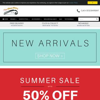 Buy Women's Shoes & Boots Online - Ireland - The Shoe Horn