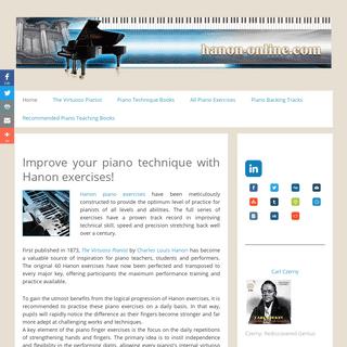 ArchiveBay.com - hanon-online.com - Hanon exercises - 240 Piano finger exercises in all keys