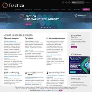 ArchiveBay.com - tractica.com - Tractica