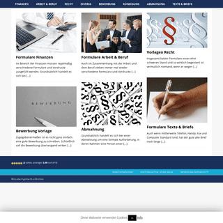 Startseite » vorlage-formulare.com