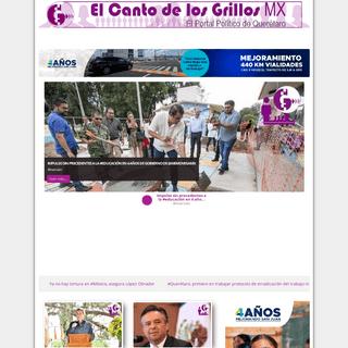 El Canto de los Grillos - El Portal Político de Querétaro - Noticias San Juan del Río