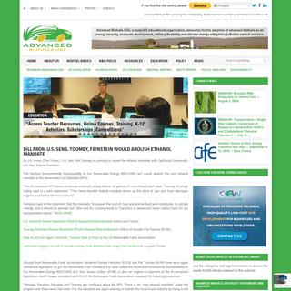 ArchiveBay.com - advancedbiofuelsusa.info - Advanced BioFuels USA – Truly Sustainable Renewable Future