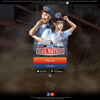 Free browser-based online strategy game - Rail Nation