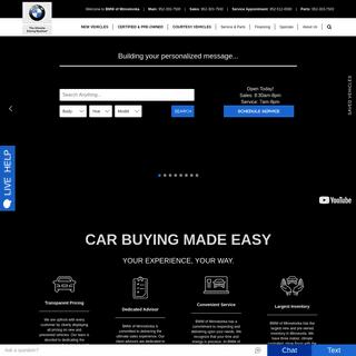 BMW of Minnetonka - BMW Dealer in Minnetonka, MN