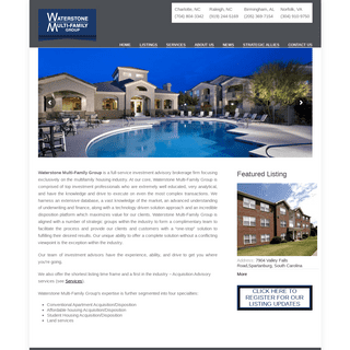 ArchiveBay.com - waterstonemfg.com - Waterstone Multi-Family Group