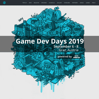 Game Dev Days – Game Dev Days Graz is a community event for everyone who is interested in game development- connecting industr