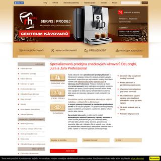 RHVending servis a prodej kávovarů Delonghi, Jura a Saeco