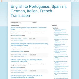 ArchiveBay.com - englishtranslateonline.blogspot.com - English to Portuguese, Spanish, German, Italian, French Translation