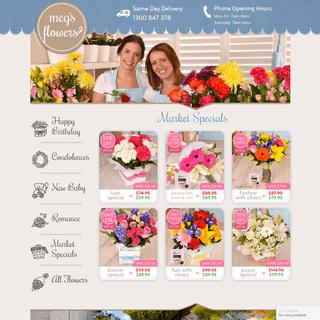 Meg's Flowers Florist