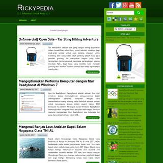 Rickypedia -- Inspirasi Untuk Anda