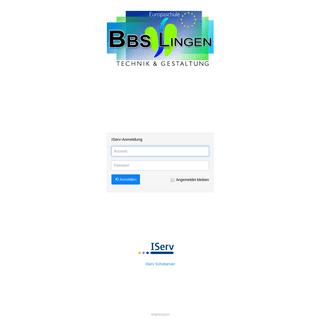 IServ - bbs-lingen-tg.eu