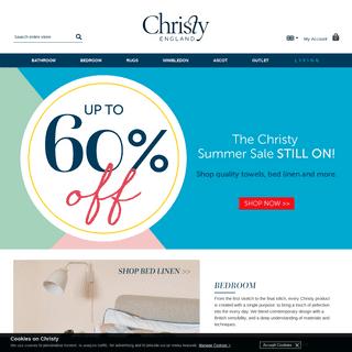 Christy Towels, Quality Bath Towels & Linens Online - Christy UK