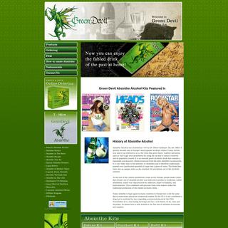 Green Devil® Absinthe Kits - Buy Absinthe Alcohol Online