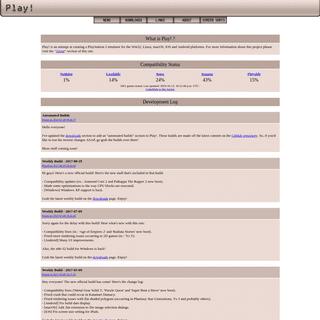 Play! - Development Log