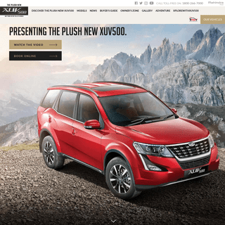 Mahindra XUV500 - Plush New XUV500 - Latest SUV in India